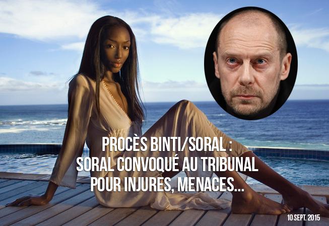 Soral et son « vrai » procès contre Binti !