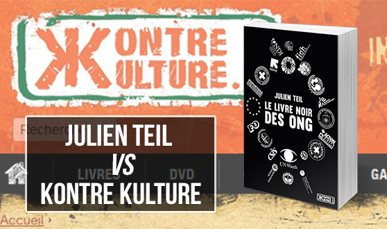 Important communiqué de Julien Teil concernant son dernier livre édité chez Kontre Kulture