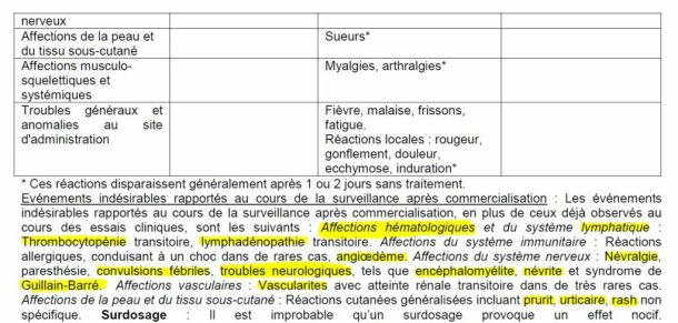 effets-secondaires-Vaxigrippe