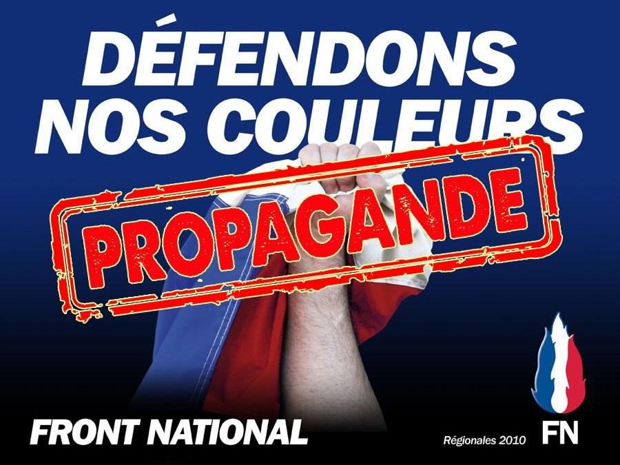 LRFNPS : exemple de propagande minable du Front National