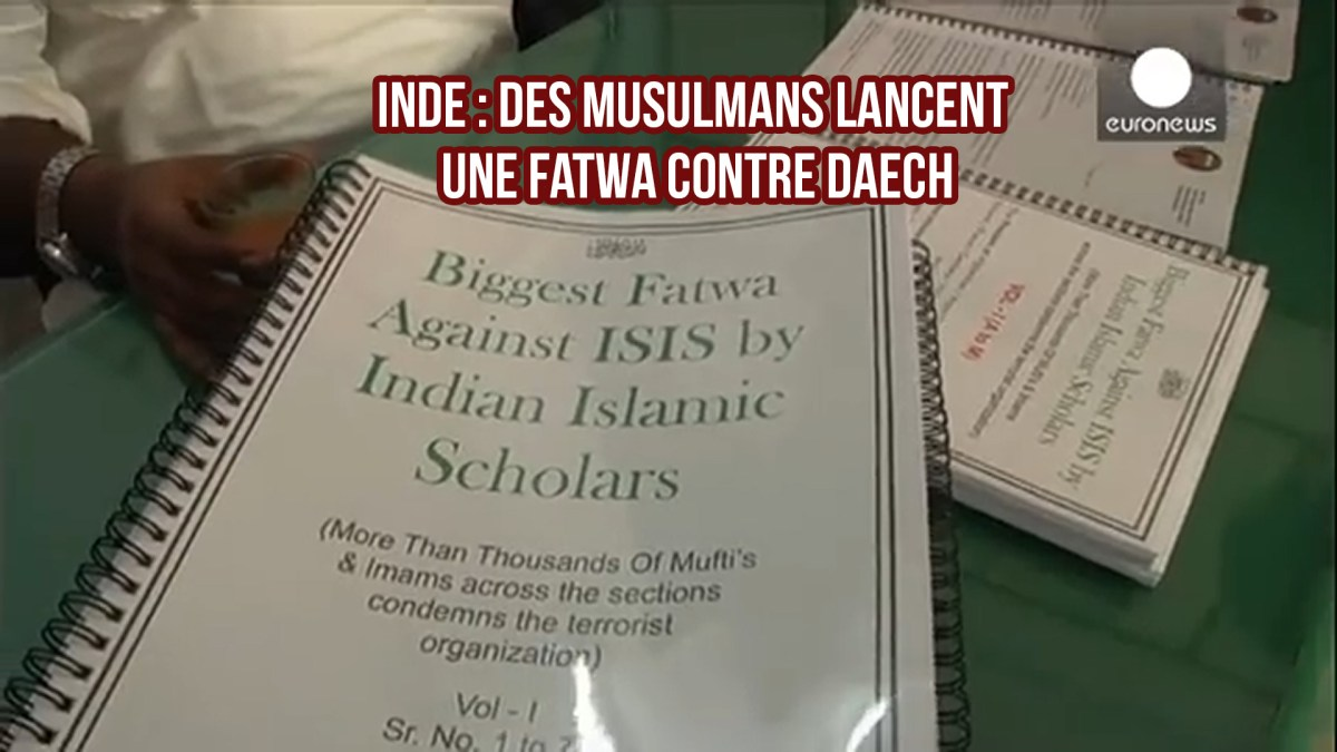 Inde : des musulmans lancent une fatwa contre Daech