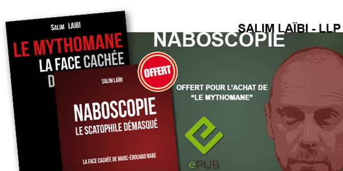 Parution numérique du livre «Naboscopie», offert pour l'achat du «Mythomane» !
