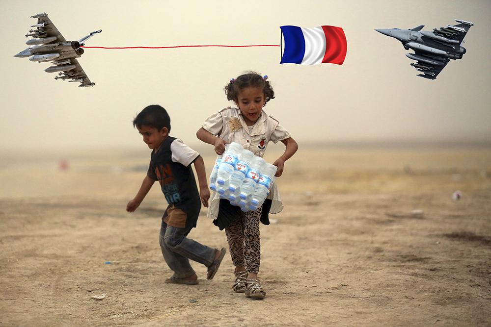 Le prix de la démocrassie : 28 écoliers irakiens tués à Mossoul par un Rafale ? Pas de réactions en France