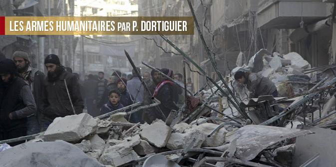 Les armes humanitaires par P. Dortiguier