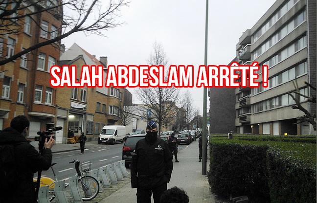Molenbeek : Salah Abdeslam arrêté pendant une opération de police à Bruxelles