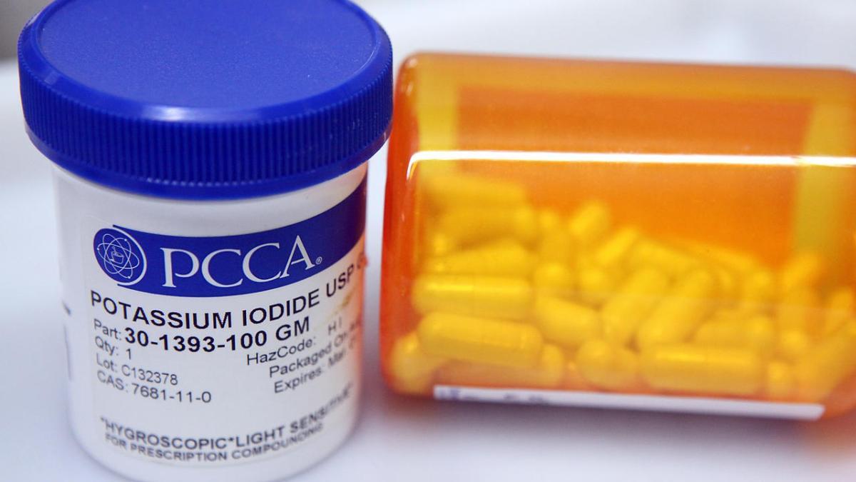 Belgique –  Tournée générale de pilules d'iode