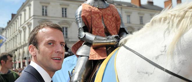 Macron, notre Chakib Khelil hexagonal, le bankster rothschildien, commémore Jeanne d'Arc !