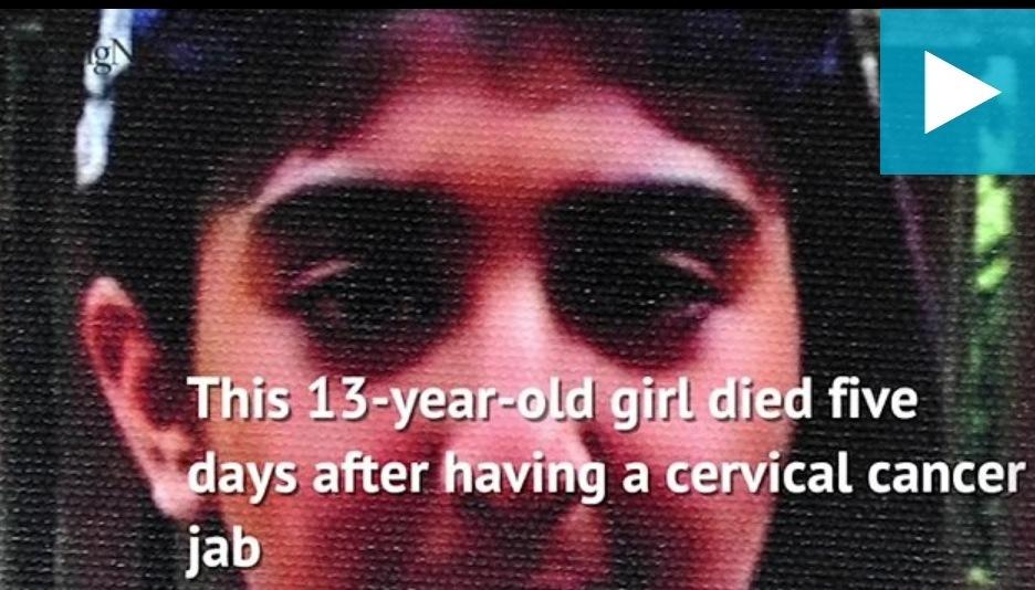 Cette adolescente de 13 ans décède 5 jours après avoir reçu le vaccin contre le HPV (extraits)