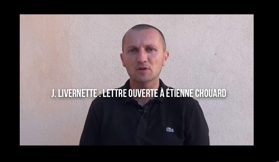 Johan Livernette : Lettre ouverte à Étienne Chouard