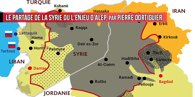 Le partage de la Syrie ou l'enjeu d'Alep, par Pierre Dortiguier