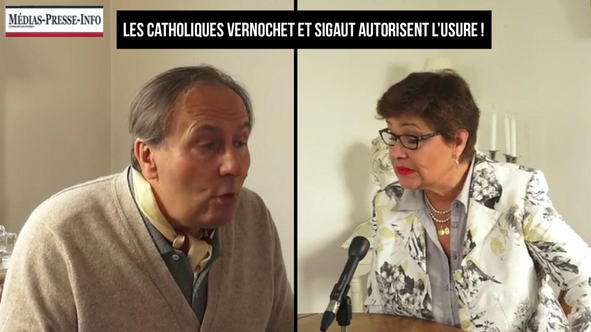 Les catholiques Vernochet et Sigaut décrètent la licéité de l'usure !