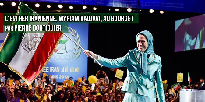 L'Esther iranienne, Myriam Radjavi, au Bourget par Pierre Dortiguier