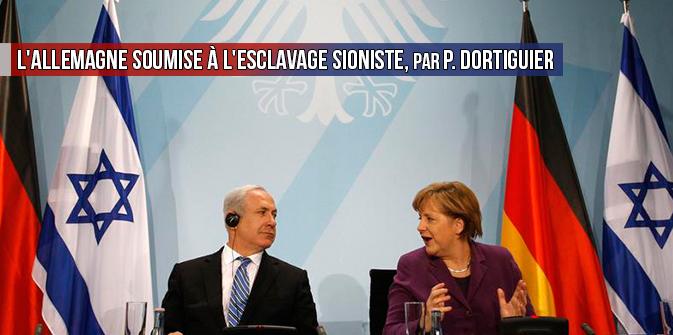 L'Allemagne soumise à l'esclavage sioniste, par Pierre Dortiguier