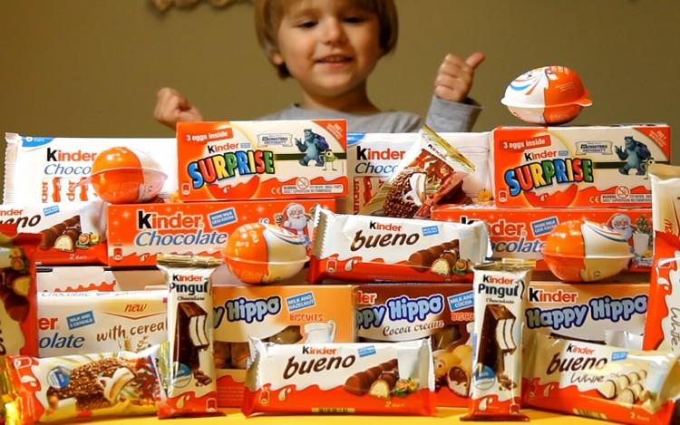 Miam : les barres chocolatées Kinder contiendraient des substances cancérogènes !