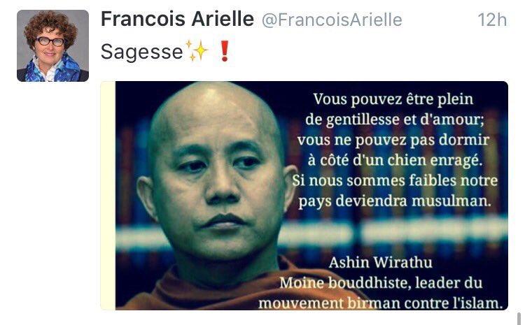 Nouveau dérapage islamophobe grave pour l'élue Arielle François ?