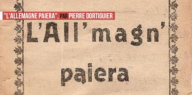 «L'Allemagne paiera», par Pierre Dortiguier