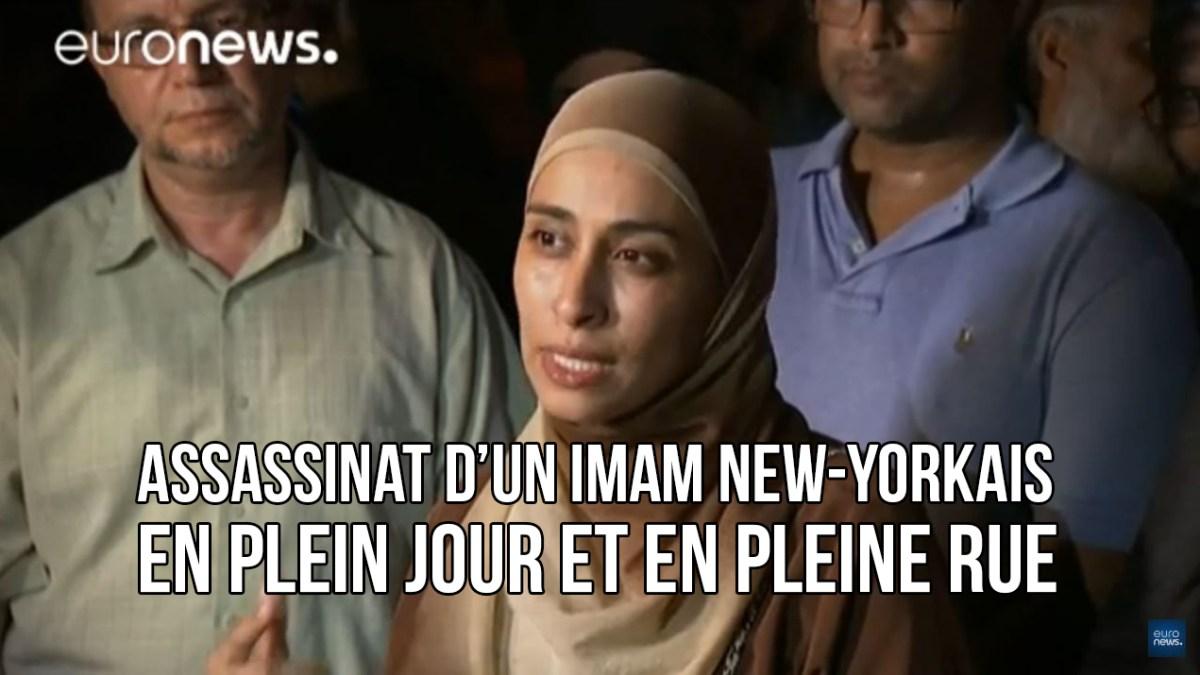 Colère des musulmans de New-York après l'assassinat d'un imam et son assistant