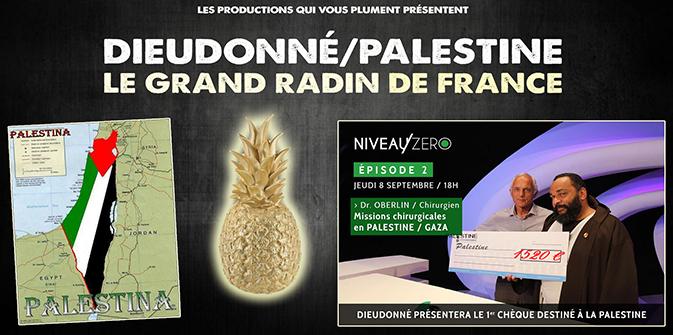 Dieudonné/Palestine : le Grand Radin de France (Vidéo LLP)