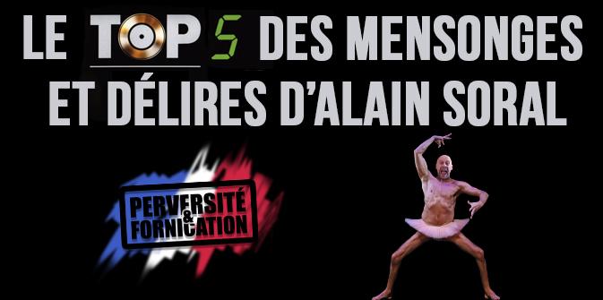 Le top 5 des mensonges d'Alain Soral
