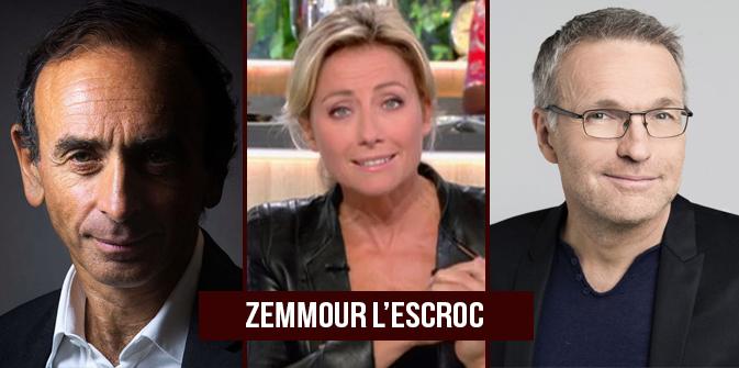 L'escroc mythomane Éric Zemmour en flagrant délit de mensonge à «C à vous»