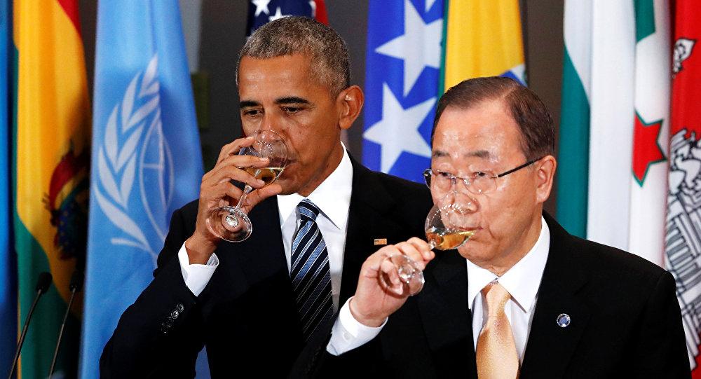 AG de l'ONU : déguster du champagne/caviar tout en discutaillant famine et crise des réfugiés…