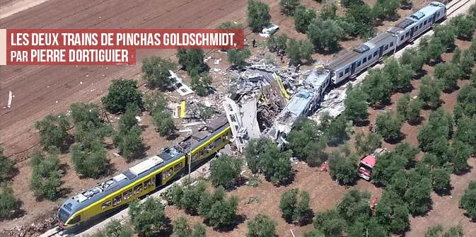 Les deux trains de Pinchas Goldschmidt,par Pierre Dortiguier