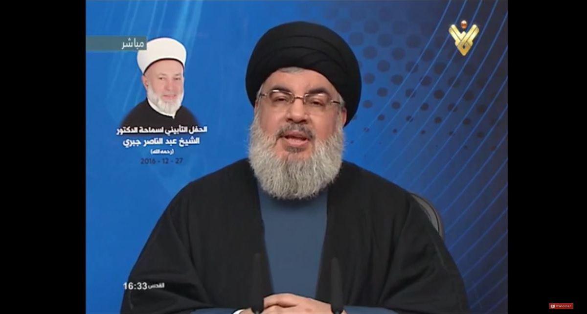 Hassan Nasrallah : «Le chaos au Moyen-Orient ne sauvera pas Israël»