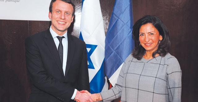 Confidentiel : la fondatrice de « France-Israël » dans la délégation de Macron à Alger