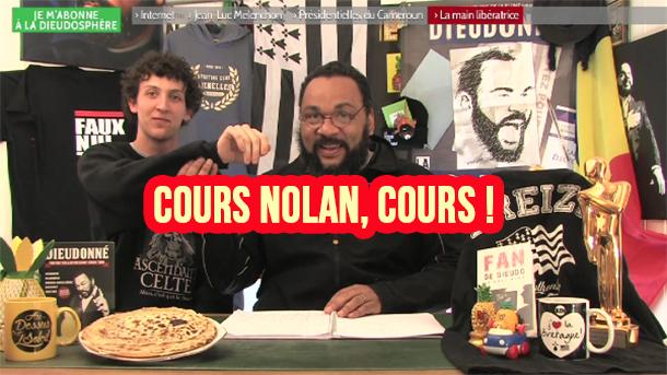Dieudonné présente sa nouvelle bête de foire, Nolan le gifleur de Valls !