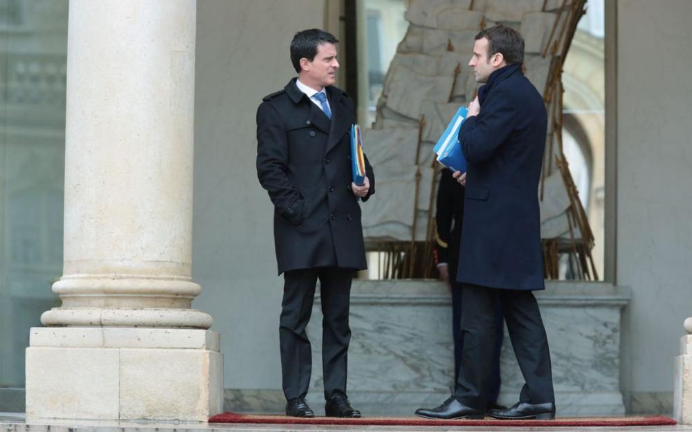 Parjure maçonnique : Valls officialise son soutien à Macron