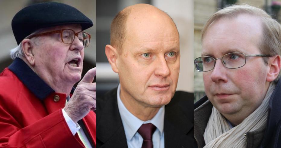 Clowneries : Jean-Marie Le Pen, Carl Lang et Alain Escada s'allient !