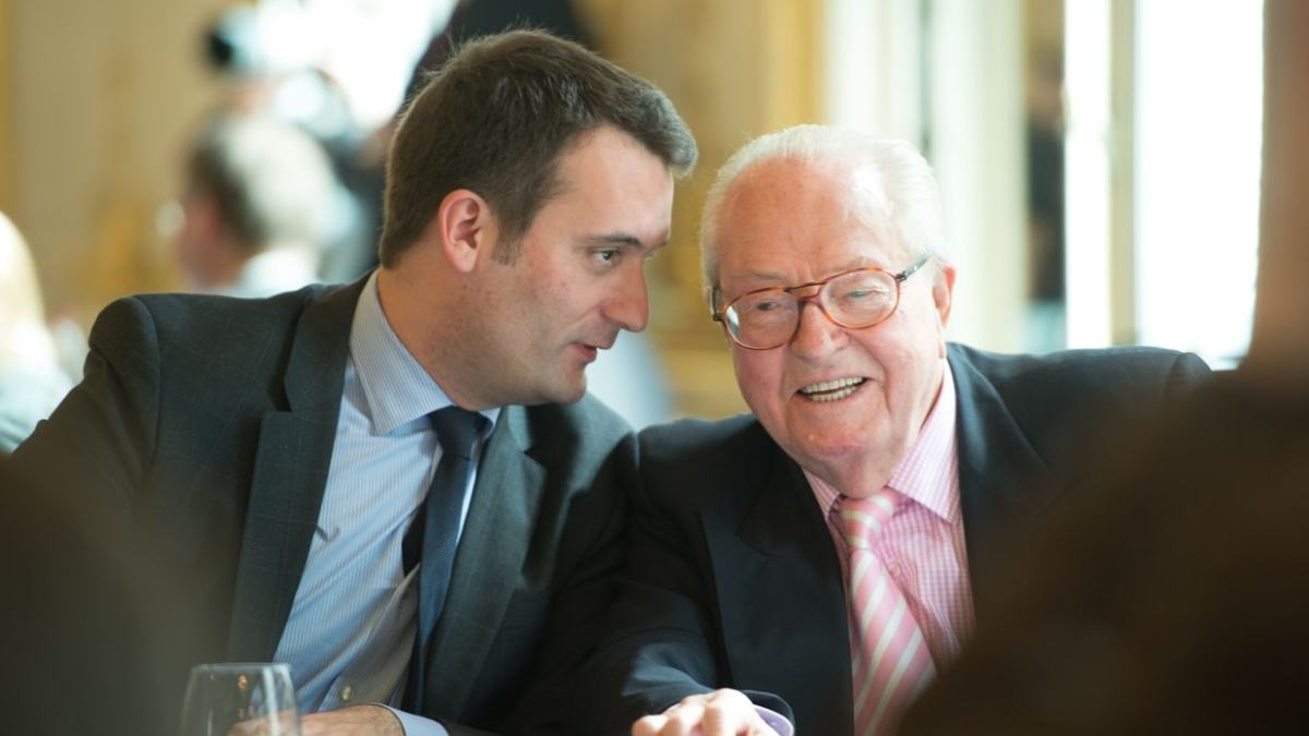 Pour Jean-Marie Le Pen, Florian Philippot est «responsable de la défaite» du FN