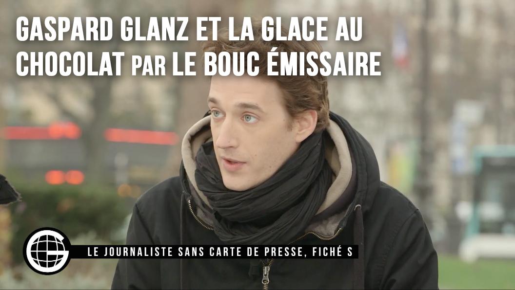 Gaspard Glanz et la glace au chocolat, par LBE