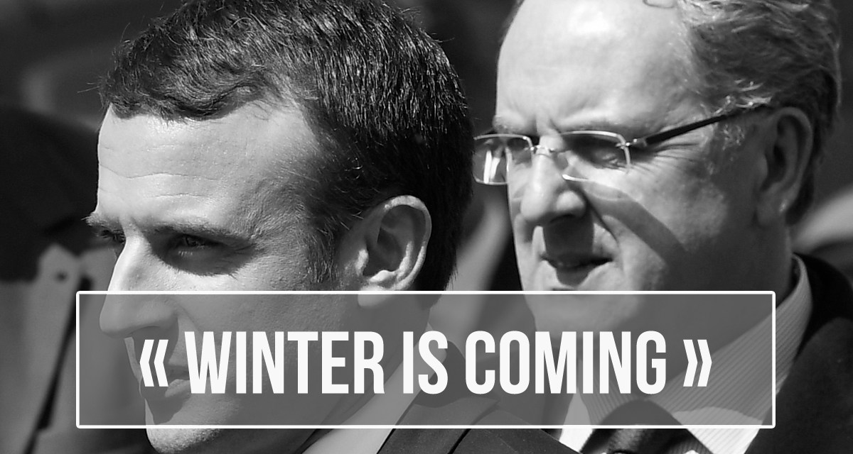 Winter is coming : les naïfs marcheurs se réveillent…