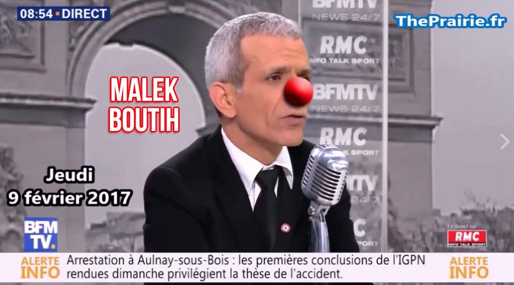 À vomir : Malek Boutih, l'exemple type de l'arriviste opportuniste !
