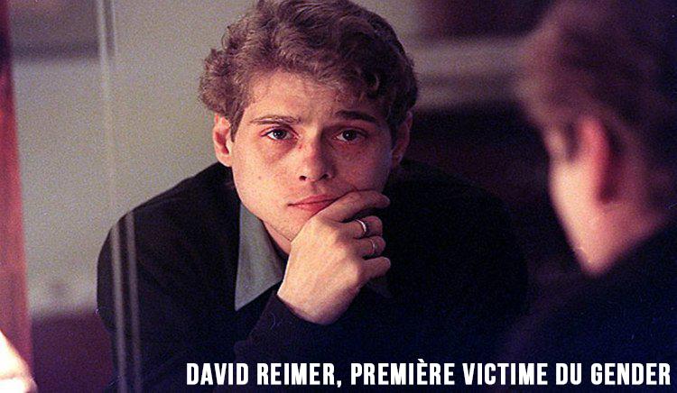 Vidéo : David Reimer, tué par la théorie du genre !
