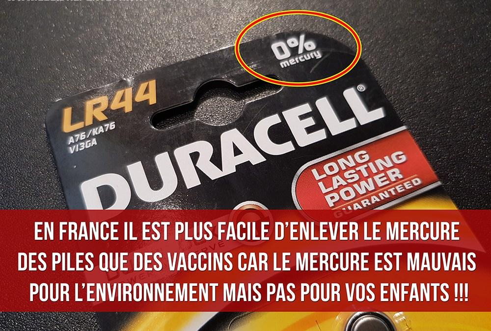 Vaccins/Plombages : le mercure est-il un poison mortel oui ou non ?