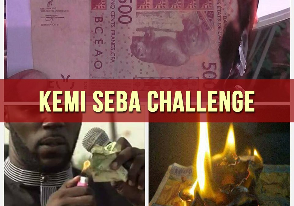 Franc CFA : succès spectaculaire du «Kemi Seba Challenge» !