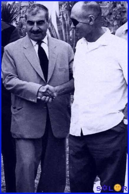 Mustafa-Barzani-mose-dayan