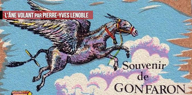 L'âne volant par Pierre-Yves Lenoble
