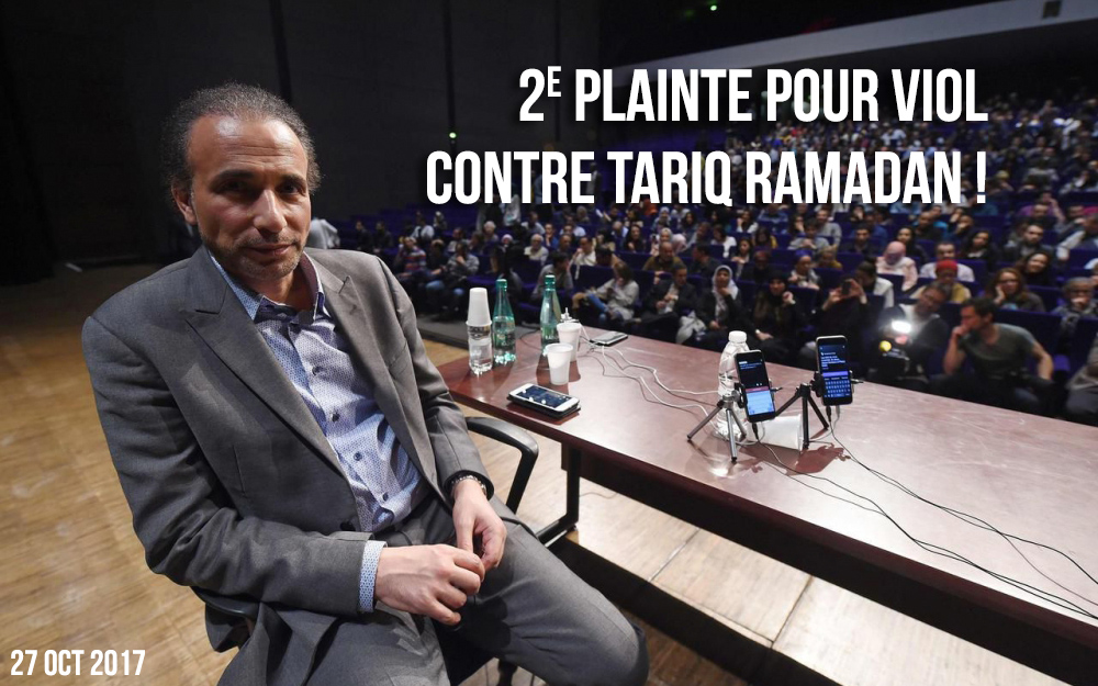 Une deuxième femme accuse Tariq Ramadan de viol