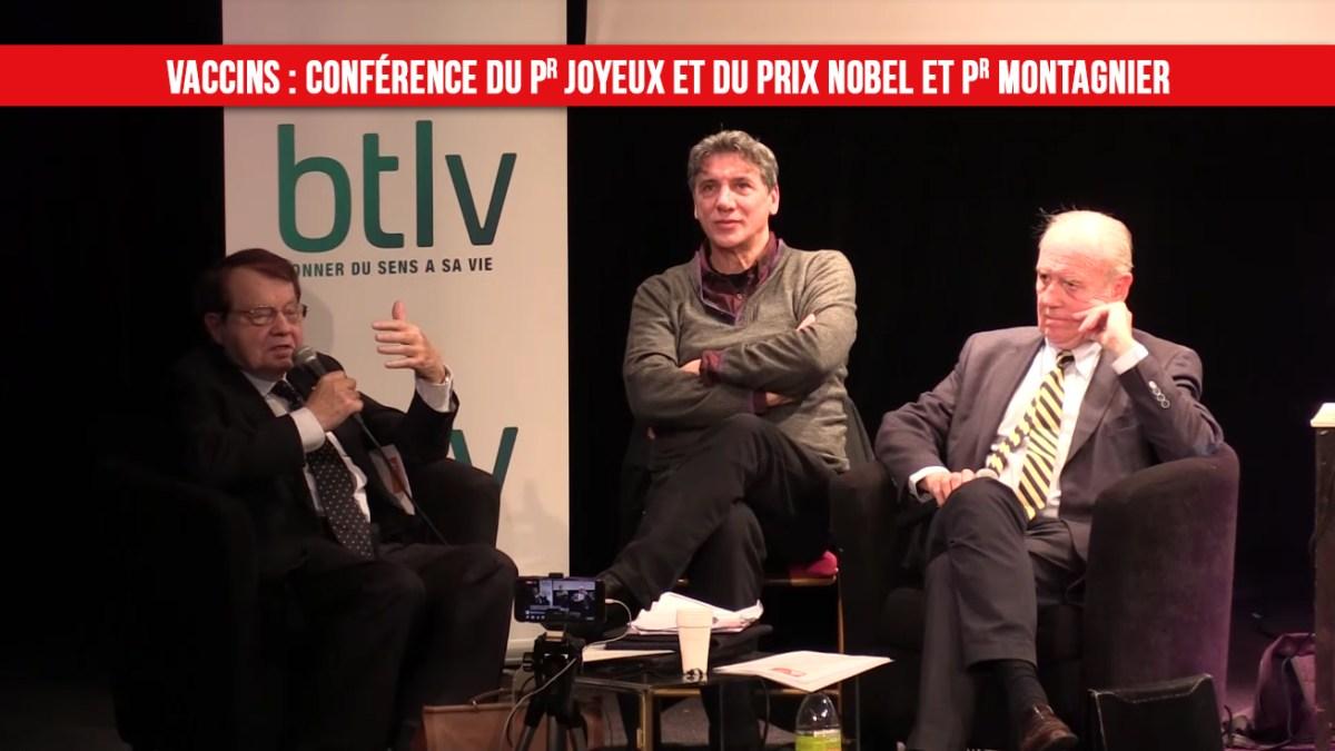 Vaccins : conférence du Pr Henri Joyeux et du prix Nobel et Pr. Luc Montagnier