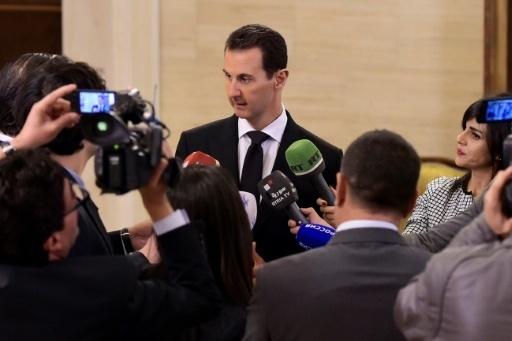 Assad s'en prend à Paris, l'accuse de « soutien au terrorisme »