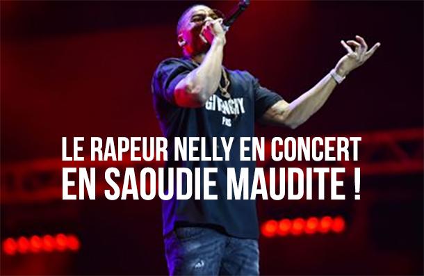 Le rappeur Nelly en Arabie saoudite pour un concert !
