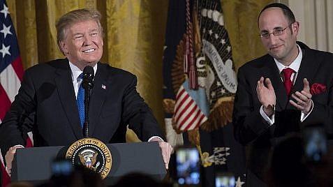 Trump célèbre la décision sur Jérusalem lors de la soirée de Hanoukka à la Maison Blanche