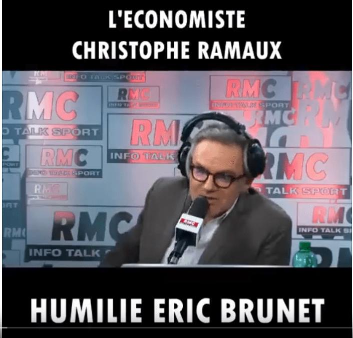 L'économiste Christophe Ramaux déboîte Éric Brunet sur les fonctionnaires !