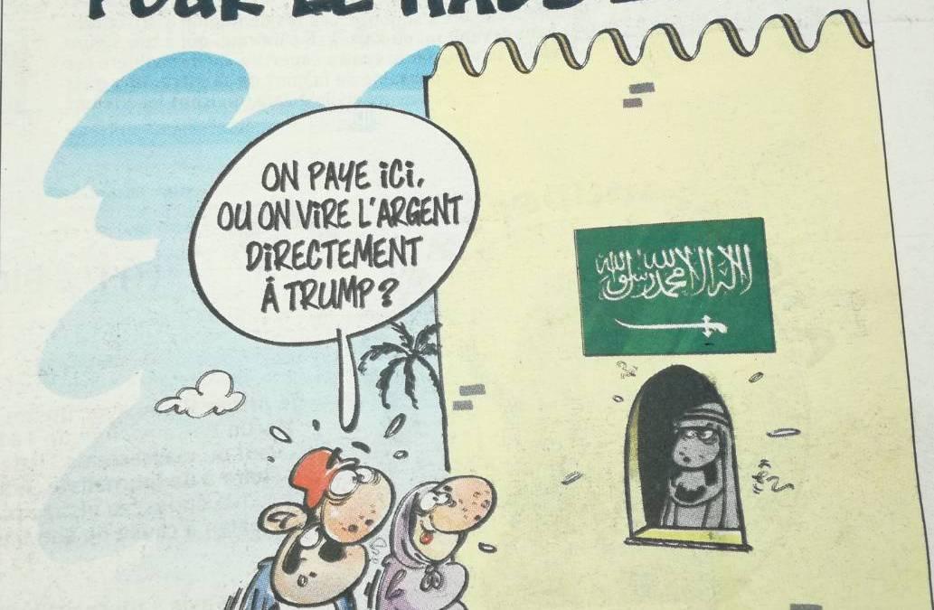 Dessin du jour : boycott du pèlerinage à la Mecque !