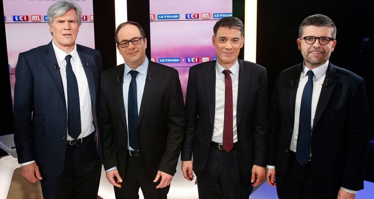 Le débat du PS a attiré 200.000 téléspectateurs sur LCI