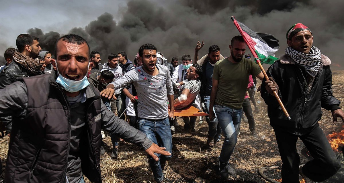 Manifestations à Gaza : sept Palestiniens tués par les forces d'occupation
