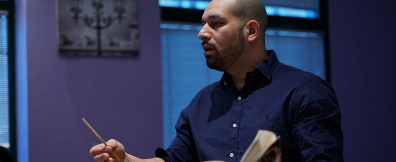 Mohamed Koussa, prof à La Courneuve et champion du monde de lecture rapide